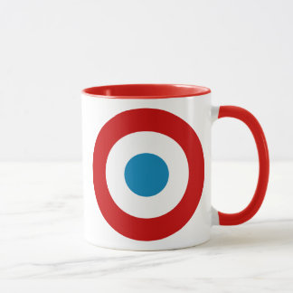 French Revolution Roundel France Cocarde Tricolore Mug