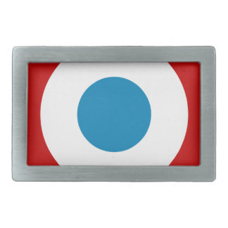 French Revolution Roundel France Cocarde Tricolore Rectangular Belt Buckles