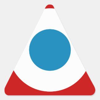 French Revolution Roundel France Cocarde Tricolore Triangle Sticker