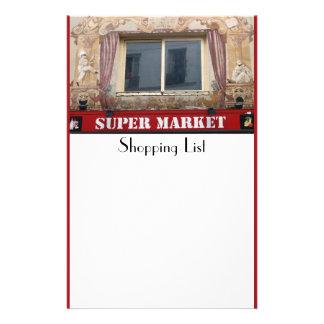 French Super Market Stationery
