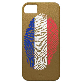 French touch fingerprint flag iPhone 5 cover