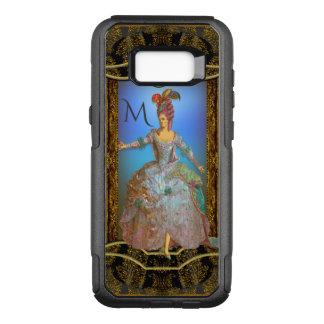 French VIII Unique Pretty Baroque Monogram OtterBox Commuter Samsung Galaxy S8+ Case