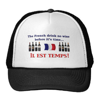 French Wine Drinkers Hats