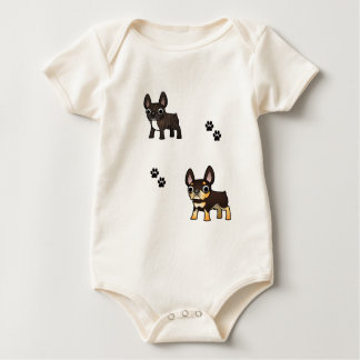 Frenchie products baby bodysuit