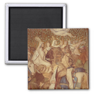 Fresco, Elisabeth-Galerie, Wartburg Castle Magnet