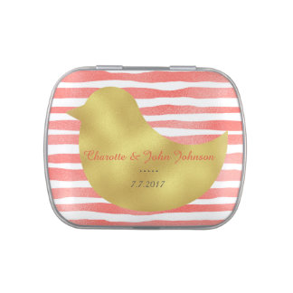 Fresh Candy Stripes Jelly Belly™ Candy Gift Jelly Belly Candy Tins