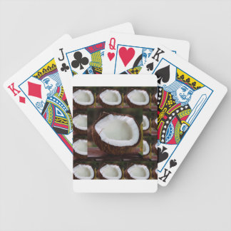 Fresh Coconut chefs healthy flavour cuisine foods Bicycle Playing Cards