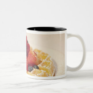 Fresh fruit waffle Two-Tone coffee mug