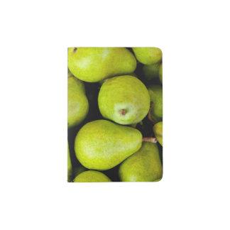 Fresh Green Pears Passport Holder