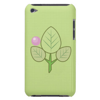 fresh leaves and charming ipod touch case