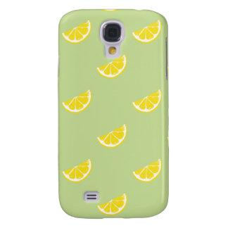 fresh lemon pattern HTC vivid tough Galaxy S4 Case