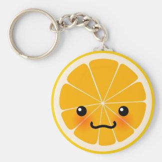 Fresh Orange Keychain