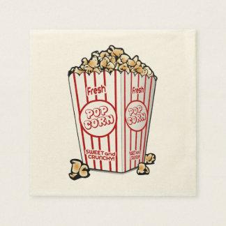 Fresh Popcorn Disposable Serviettes