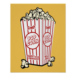 Fresh Popcorn Poster