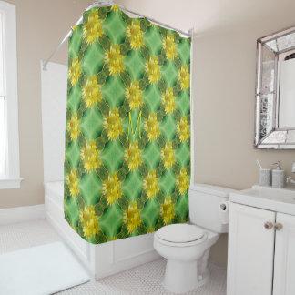 Fresh Yellow Daisies Shower Curtain