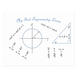 Freshman Trigonometry Item Postcard