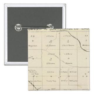 Fresno County, California 33 15 Cm Square Badge