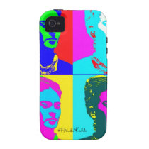 Frida Kahlo Andy Warhol Inspired Portrait Case-Mate iPhone 4 Cases