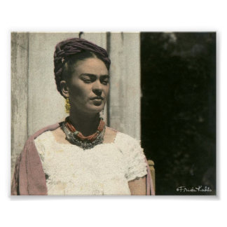 Frida Kahlo Blush Photograph Poster