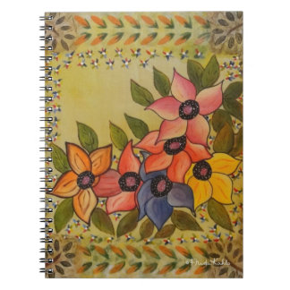 Frida Kahlo Painted Flores Note Books