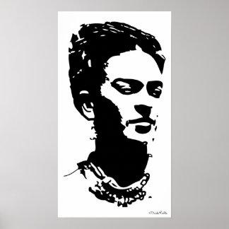 Frida Shadow Portrait Print