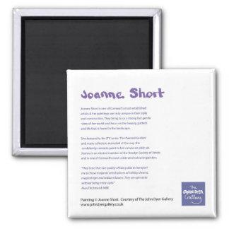 Fridge Art: Joanne Short Artist Information Magnet