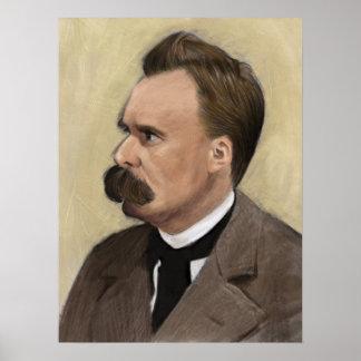 Friedrich Nietzsche, German Philosopher Poster