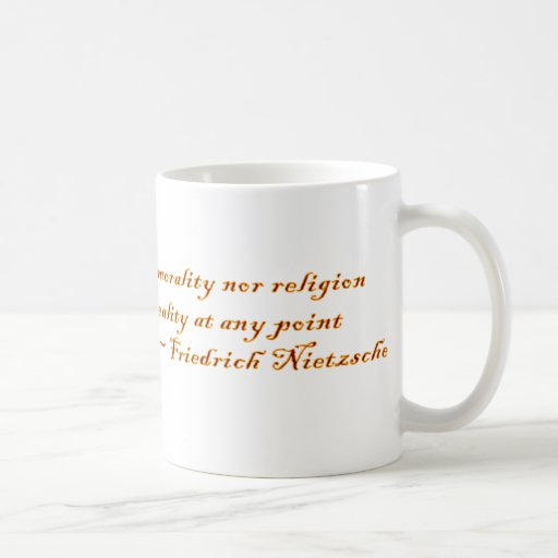 Friedrich Nietzsche Quote Coffee Mug