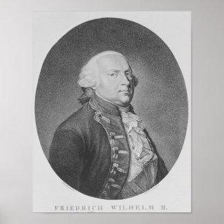 Friedrich Wilhelm II of Prussia Poster