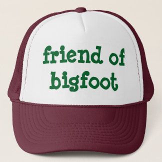 friend of bigfoot trucker hat