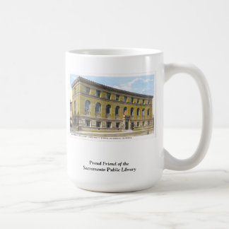 Friend of the Library Mug
