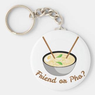Friend Or Pho Key Ring
