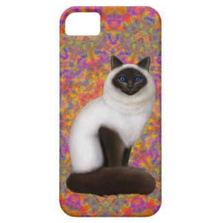 Friendly Birman Cat iPhone Case Barely There iPhone 5 Case