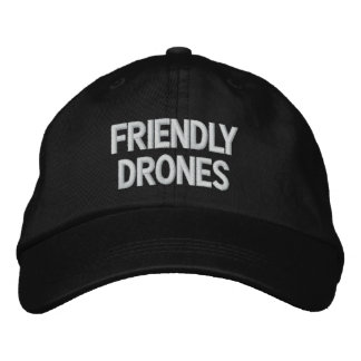 Friendly Drones Hat Embroidered Hats