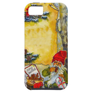 Friendly elf with parcels iPhone 5 case