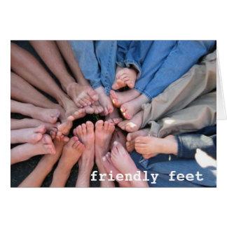 Friendly Feet Card