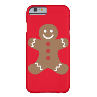 Friendly Gingerbread iPhone Christmas Case Barely There iPhone 6 Case