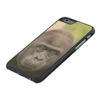 friendly gorilla carved® maple iPhone 6 case