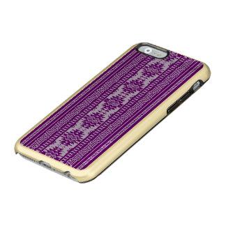 friendly mixed borders purple incipio feather® shine iPhone 6 case