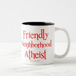 Friendly Neighborhood Atheist Two-Tone Coffee Mug