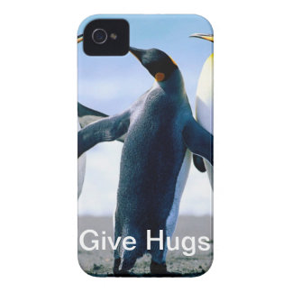 Friendly Penguin iPhone 4 Cases
