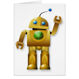 Friendly Robot Note Cards