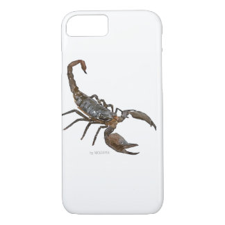 Friendly Scorpion iPhone Case (White)