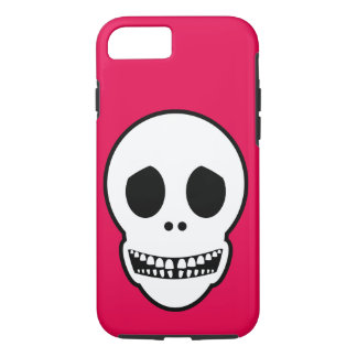 Friendly Smiling Skull iPhone 7 Case