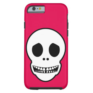 Friendly Smiling Skull Tough iPhone 6 Case