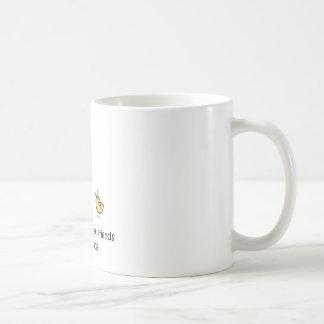 Friends Don't Let Friends Eat Friends Basic White Mug