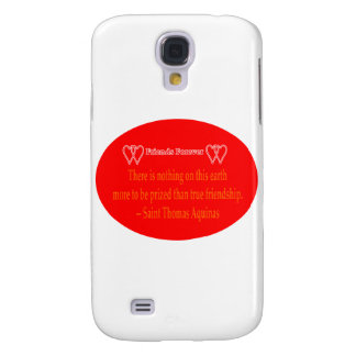 Friends Forever 2 Hearts Red  White Saint Thomas A Galaxy S4 Cases