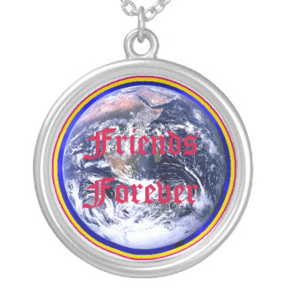 Friends Forever World Necklace MUSEUM Zazzle Gifts