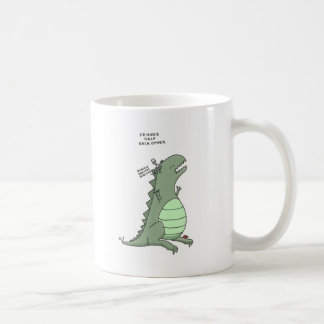 friends help each other coffee mug