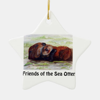 Friends of the Sea Otter ornament